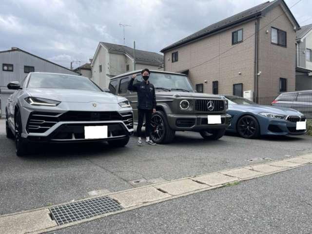 3台目のご用命有難う御座います!千葉県のI社長様に新車 メルセデスベンツ AMG G63をご納車させて頂きました!