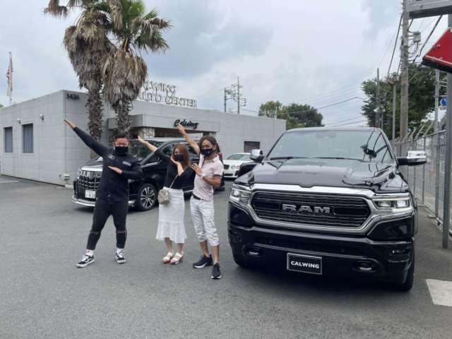 千葉県のM社長様に新車 ラムトラック リミテッドをご納車させて頂きました。