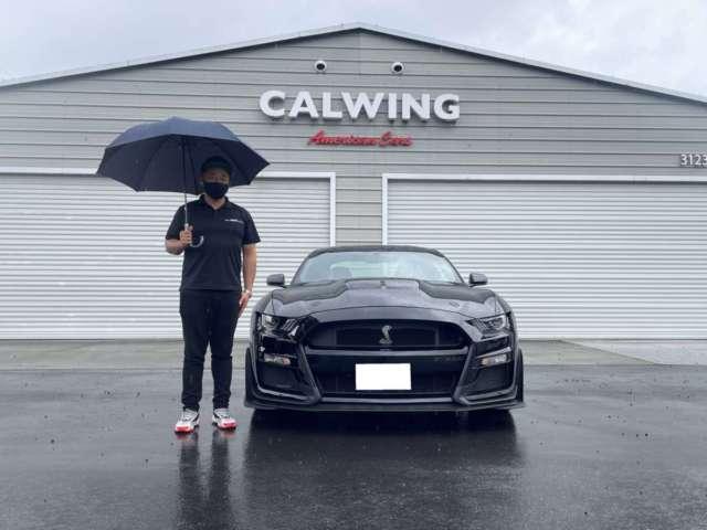 静岡県のO様に 新車 シェルビー GT500をご納車させて頂きました!