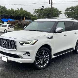 2台目のご購入ありがとうございます!  滋賀県のO社長に新車 インフィニティ QX80プロアクティブをご納車させて頂きました!