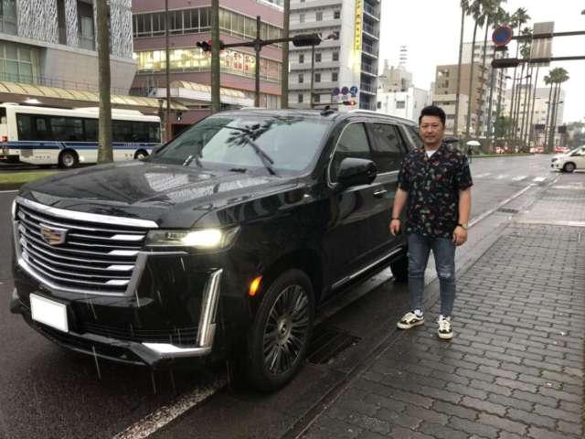 宮崎県のM社長に 新車 キャデラック エスカレード プレミアムラグジュアリープラチナムをご納車させて頂きました!