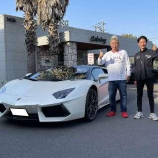 東京都のK社長にランボルギーニ アヴェンタドール ロードスターをご納車させて頂きました!