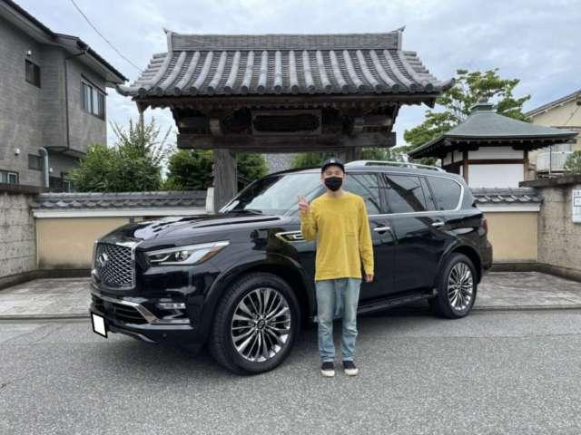 栃木県のA様に新車QX80をご納車させて頂きました!