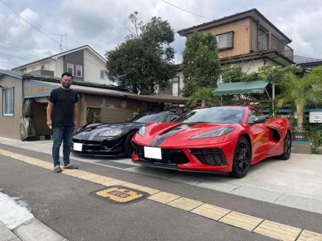 宮城県のK社長に新車 コルベット 3LT Z51をご納車させて頂きました!