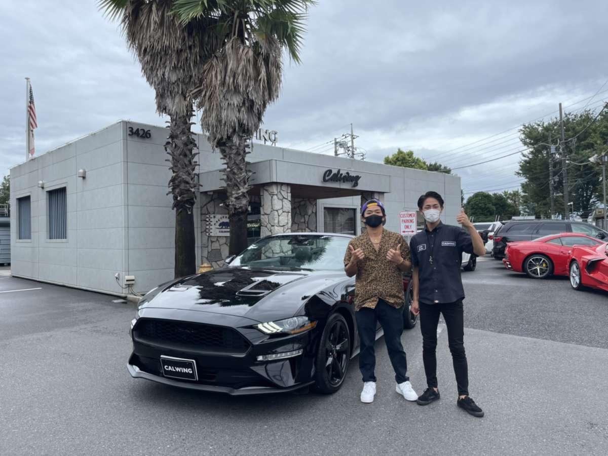 埼玉県のS様に新車 フォード マスタング コンバーチブルをご納車させて頂きました!