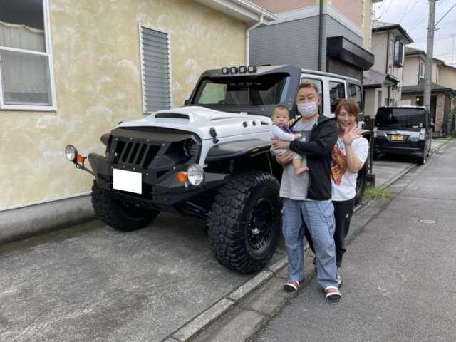 神奈川県のU様にジープ ラングラー LA BAD WRANGLERをご納車させて頂きました!