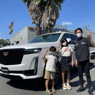 2台目のご購入有難うございます!埼玉県のH様に新車 キャデラック エスカレード スポーツプラチナムをご納車させて頂きました!